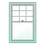 Double Hung Replacement Window from Renewal by Andersen