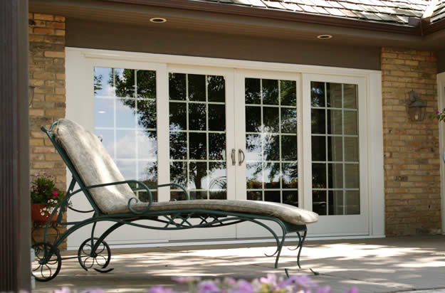 Traditional french gliding replacement patio doors for French gliding patio doors